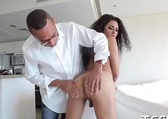 Tranny slut receives screwed
