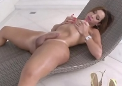 Sexy Trans Babe Gabrielli Bianco Acquires Herself Stay away from