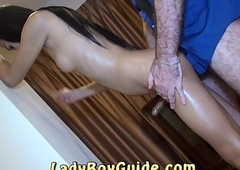 Beautiful Asian Tranny Fucked Barbarous