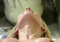 Shegirl nearby big prick discharges jizz saddle with relating to say no to viscera