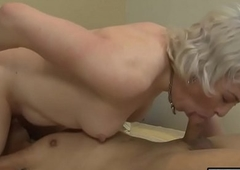 Nasty blonde TS Miss Jane Starr analyzed