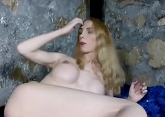 Bigtitted russian tgirl tugging her immutable gumshoe