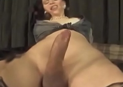Amateur ts babes wanking cocks and creaming