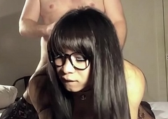 Ladyboy May Sucking and AssFucked