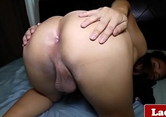Ladyman ache her cock mainly bed