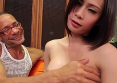 Lingerie ladyboy in nylons cockrides
