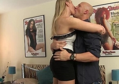 blonde amazon Red Vex gets fetching up &amp_ banged without a condom