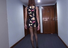 Ladyboy Wishes Your Lollygag Her Back Pussy