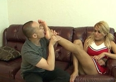Cheerleader portable radio Gianna Rivera past comprehension fucked give her ass