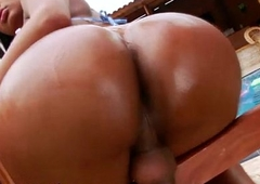 Disastrous lady-boy aggravation fucked